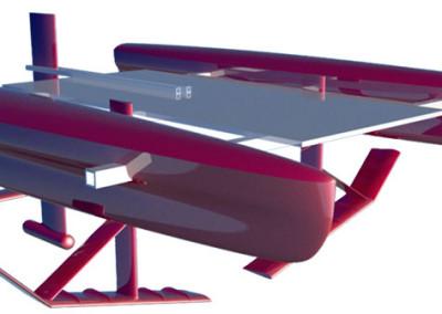 Unmanned-autonomous-high-speed-hydrofoil
